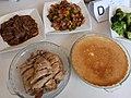 HK PFL 薄扶林水塘道 PFL Reservoir Road 香港傷健協會賽馬會傷健營 HKJC PHAB Association Jockey Club PHAB Camp Canteen food lunch meals chicken meat n steamed egg September 2019 SSG 03.jpg