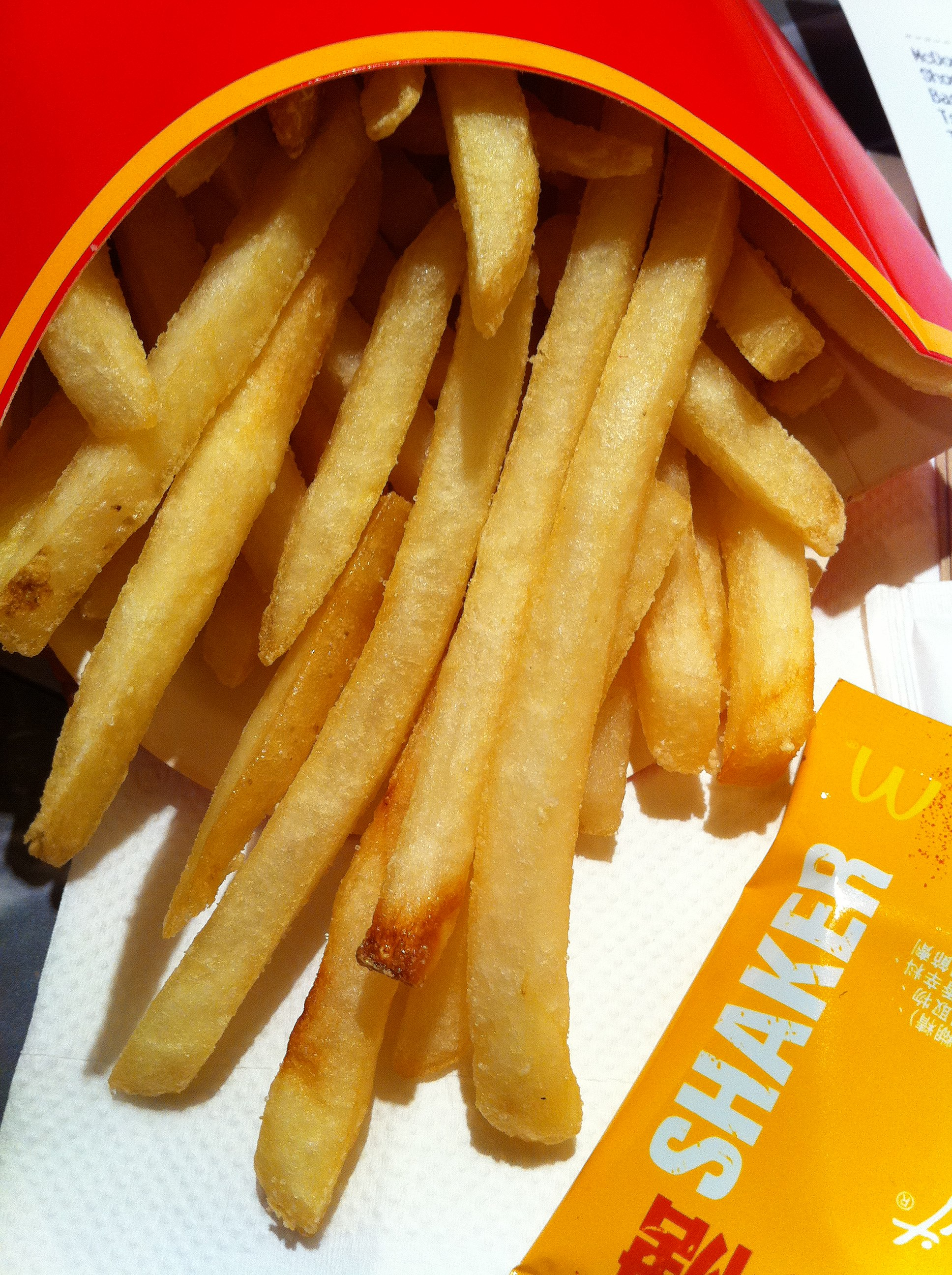 Mcdonalds Free Fries And Drink