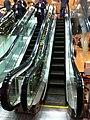 HK Tai Kok Tsui evening 新九龍廣場 New Kowloon Plaza escalators Dec-2012.JPG