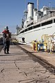 HMCS Protecteur, crew arrive safely at Joint Base Pearl Harbor-Hickam 140306-F-AD344-227.jpg