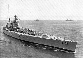 Richelieu-class battleship - Image: HMS Nelson (Warships To day, 1936)