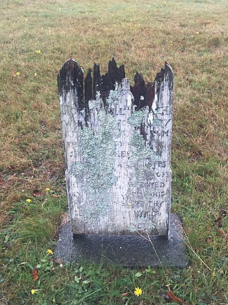 HMS Winchester (1822) - Grave marker of crew that died on HMS Winchester while at Halifax, Royal Navy Burying Ground (Halifax, Nova Scotia)