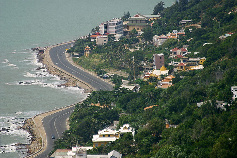 Tap tin:Ha Long Road in Vungtau.jpg
