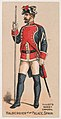 Halberdier of the Palace, Spain, from the Military Series (N224) issued by Kinney Tobacco Company to promote Sweet Caporal Cigarettes MET DPB874334.jpg