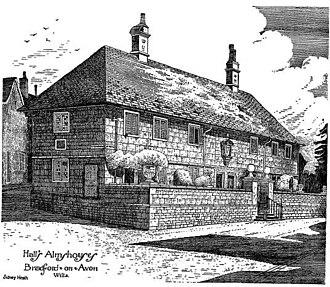 Sidney Heath - Hall's Almshouses, by Sidney Heath