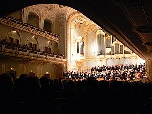 Philharmoniker Hamburg - The Philharmoniker Hamburg performing in the Laeiszhalle (2007)