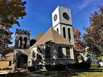 Hampshire Colony Congregational Church - Image: Hampshire Colony Congregational Church NRHP 100002821 Bureau County, IL