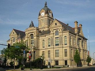 Hancock County, Ohio - Image: Hancock County, Ohio Courthouse 1