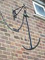 Hanging anchor, Downton - geograph.org.uk - 871303.jpg