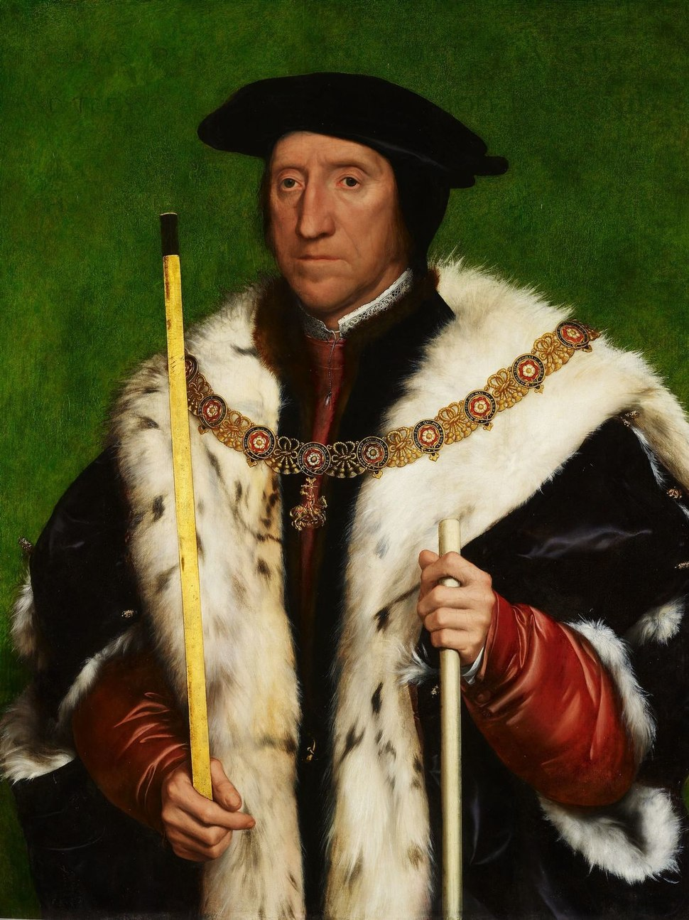 Hans Holbein the Younger - Thomas Howard, 3rd Duke of Norfolk (Royal Collection)