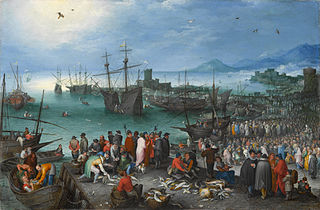 Harbor Scene with St. Paul's Departure from Caesarea