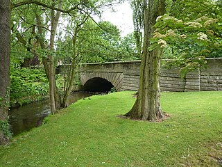 Collingham Bridge Grade II listed road bridge in West Yorkshire, England