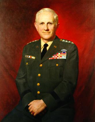 Harold Keith Johnson - Joseph Richards Essig's portrait of General Johnson