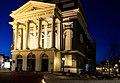 Hartebrugkerk Leiden bij nacht.jpg