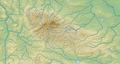 Harz (Relief und Gewässer) - Deutsche Mittelgebirge, Serie A-de.png