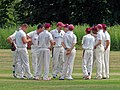 Hatfield Heath CC v. Takeley CC on Hatfield Heath village green, Essex, England 40.jpg