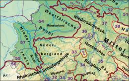 Haupteinheitengruppen Tiefland Suedwestteil.png