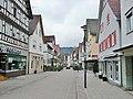 Hauptstraße in Murrhardt mit Friseursalon Hairlight Niki auf der rechten Seite - panoramio.jpg