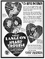 Heart Trouble 1928 poster.jpg