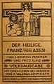 Heinrich Federer - Fritz Kunz - Der heilige Franz von Assisi.jpg