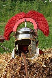 Helmet centurion end of second century
