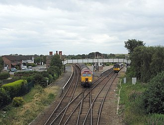 Helsby railway station - Image: Helsby railway station 1