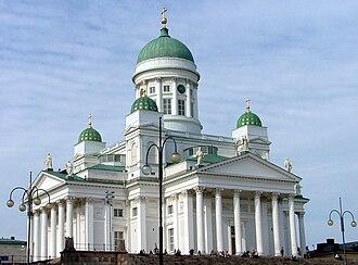 Kruununhaka - Image: Helsinki Cathedral in July 2004