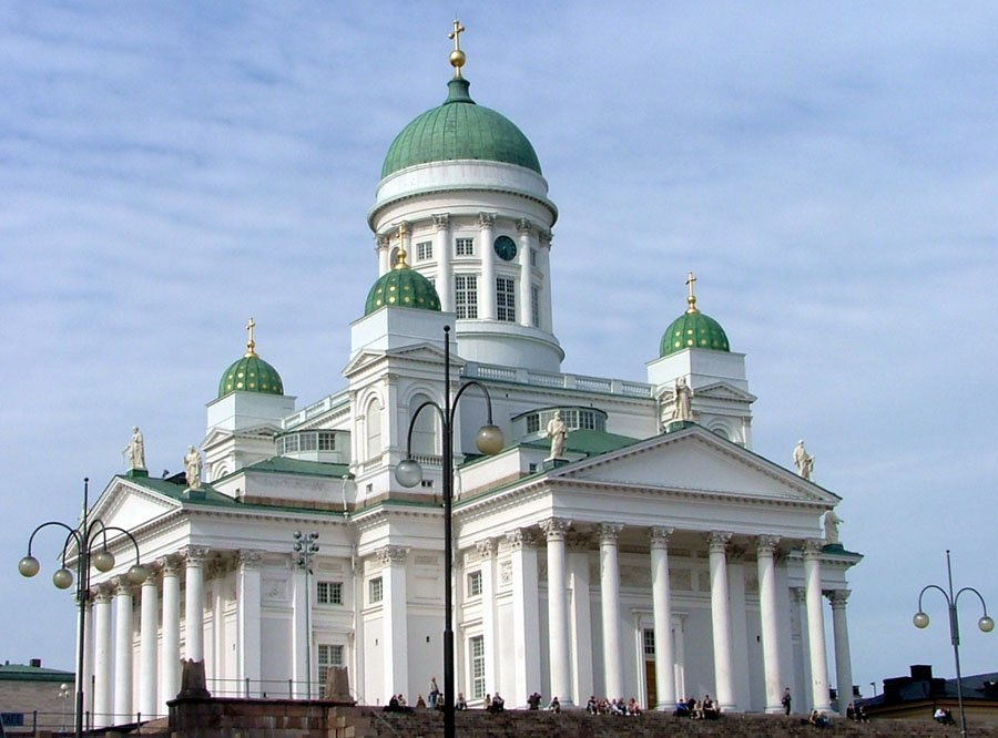 Helsinki Cathedral in July 2004