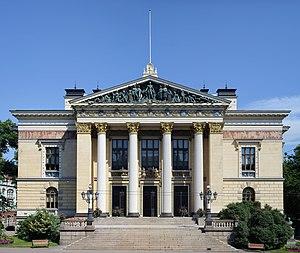 Vilhelm Helander - The House of the Estates in Helsinki, restored by Vilhelm Helander in 1985-93.