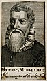 Henricus Mirulaeus. Line engraving, 1688. Wellcome V0004032.jpg