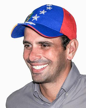 Henrique Capriles - Image: Henrique Capriles Radonski 2