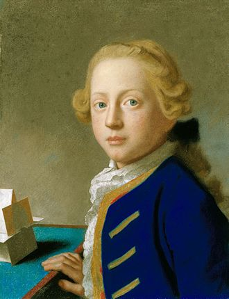 Prince Henry, Duke of Cumberland and Strathearn - Prince Henry, aged 9, by Liotard