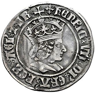 Henry VII of England - Groat of Henry VII