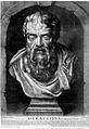 Heraclitus of Ephesius, Ionian philosopher, at Ephesus. Wellcome L0002557.jpg