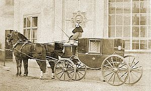 Carriage - Coach of an imperial family, c 1870