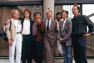 cast del film 'Grido di pietra' presentato a Venezia nel 1991