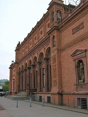 Carl Georg Heise - Kunsthalle Hamburg, Old Building