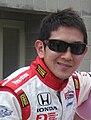 Hideki Mutoh 2010 Indy 500 Pole Day.JPG