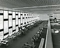 High-ceilinged reading room in the Haifa University Library, the 1970s.jpg