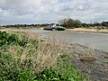 High tide on the River Stour, near Gazen Salts, Sandwich - geograph.org.uk - 736584.jpg