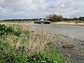 High tide on the River Stour, near Gazen Salts, Sandwich - geograph.org.uk - 736584.jpg