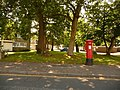 Highcliffe, postbox No. BH23 95, Beacon Drive - geograph.org.uk - 1436204.jpg