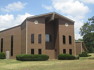 Texarkana, Arkansas - Highland Church of Christ at 1705 Highland Street in Texarkana, Arkansas