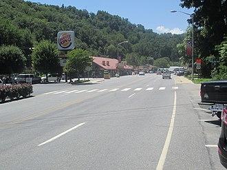 U.S. Route 19 - US 19 in Cherokee, NC