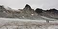 Hikers cross Snowbird Glacier. Talkeetna Mountains, Alaska.jpg
