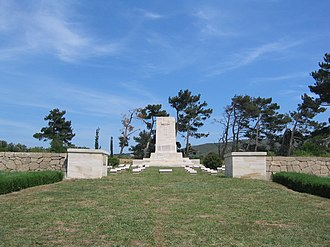 Battle of Hill 60 (Gallipoli) - Image: Hill 60 Commonwealth War Graves Commission Cemetery