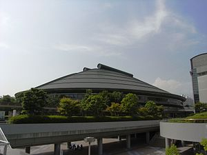 2007 FIVB Volleyball Men's World Cup - Image: Hiroshima Prefectural Sports Center 02