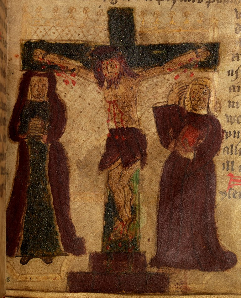 History of the Kings (f.38) the Crucifixion of Christ
