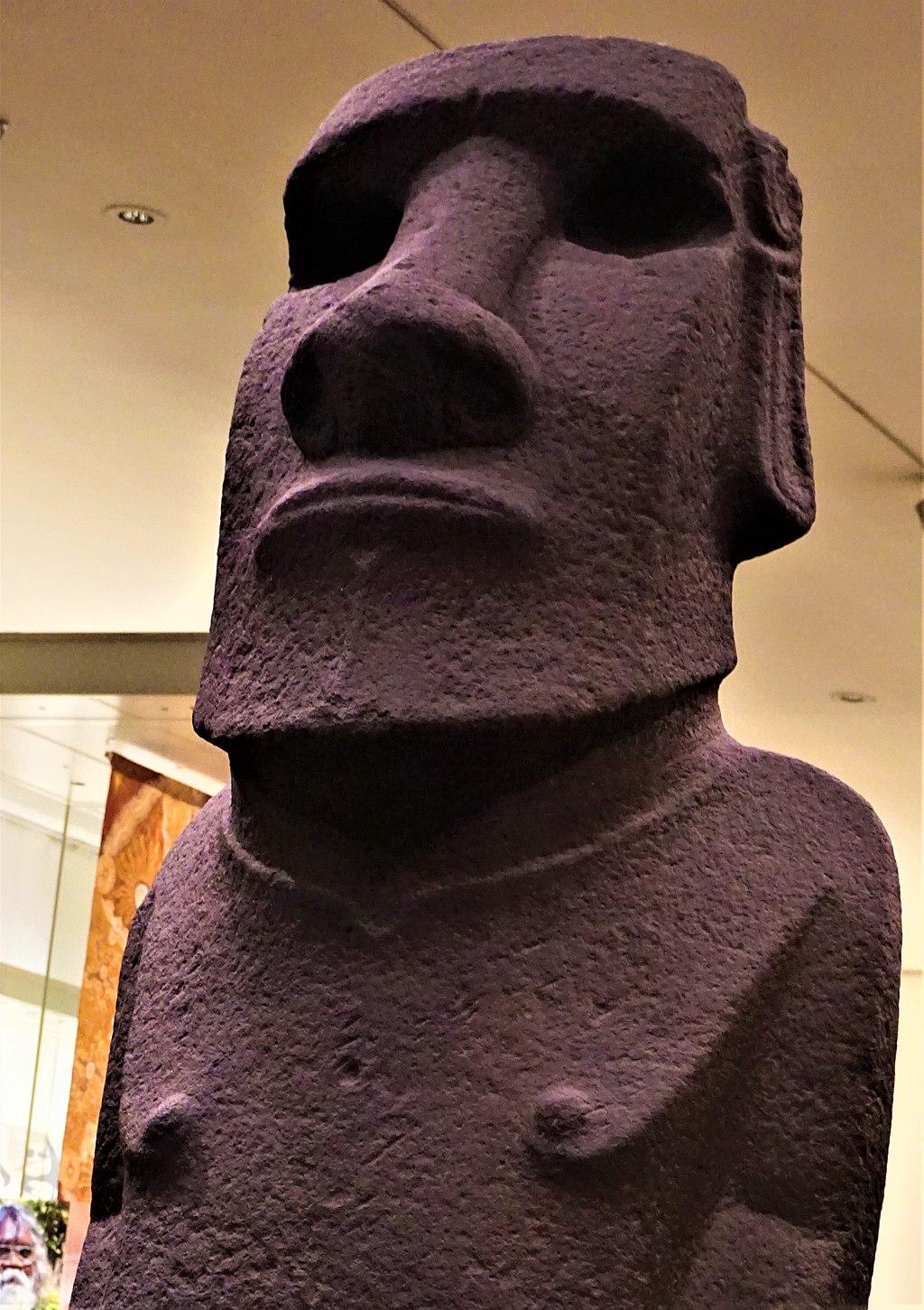 Hoa Hakananai'a - Moai from Easter Island