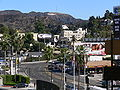 Hollywood sign N Highland Avenue.jpg